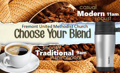 Choose your blend --traditional worship or modern worship
